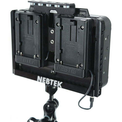 Nebtek Odyssey7 Power Cage with Dual Panasonic CGR-D Series Battery Plates