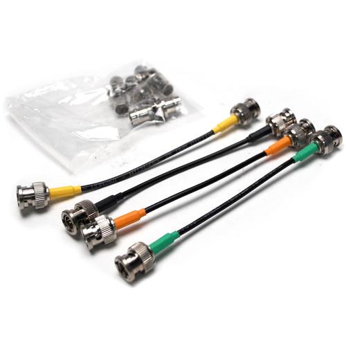 Nebtek BNC Cable & Passthrough BNC Jacks for Odyssey Power Bracket (Set of 4)
