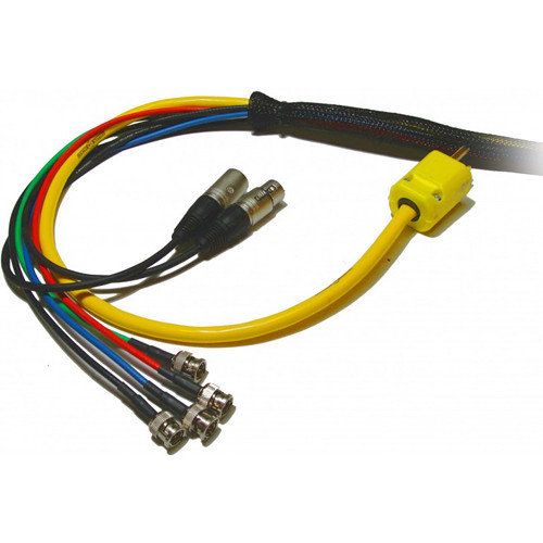Nebtek PAVLOOM Cable Loom with Four SDI Lines, Two Audio Lines, and AC Power (75')