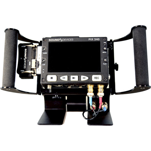 Nebtek PIXPB-IDX Power Bracket with IDX Battery Adapter for PIX240i Recorder