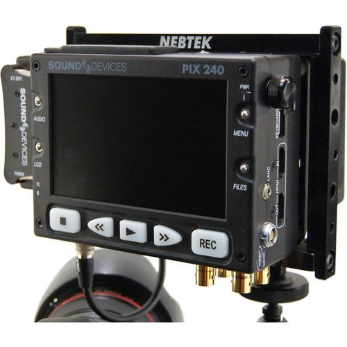 Nebtek PIXPC-AB Power Cage for PIX240i Recorder (Anton Bauer)