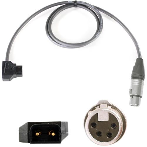 Nebtek PowerTap Male to 4-Pin XLR Male from PowerTap to XLR Power Cable (8')