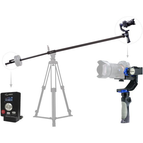 Nebula Gyro Jib with 4100 Lite 3-Axis Stabilizer and Remote