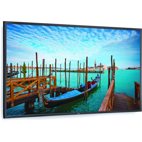 "NEC 55"" Digital Signage Kit with Mvix Xhibit Live HDTV and Landscape Wall-Mount"