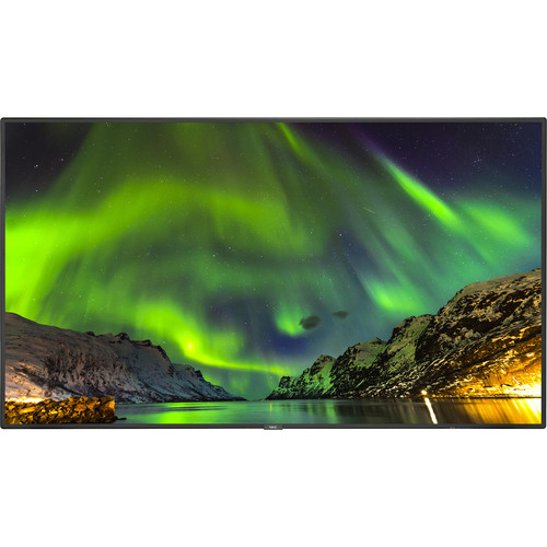 """NEC 65"""" 4K UHD Commercial Display with Integrated ATSC Tuner"""