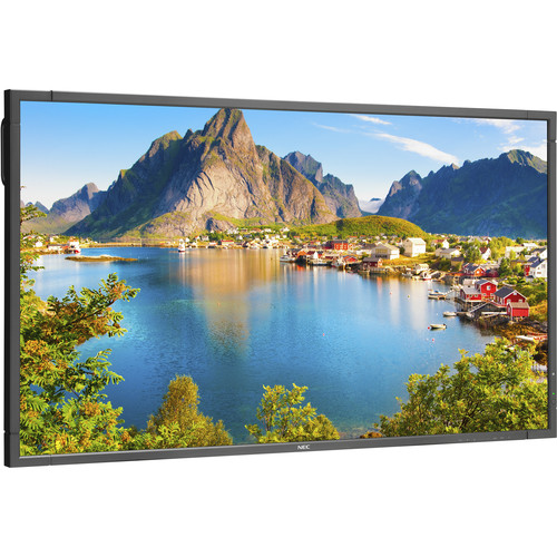 "NEC 80"" Full HD Commercial-Grade Display with Integrated Tuner"