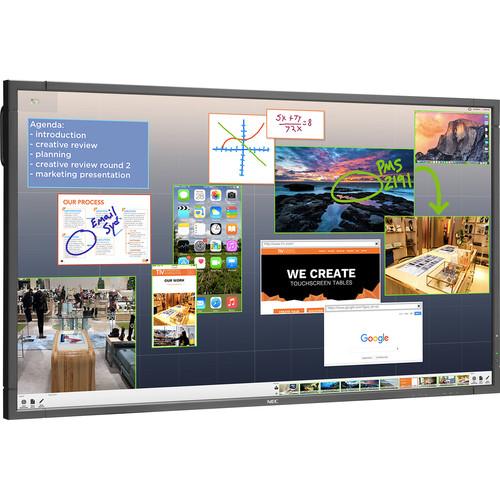 """NEC ThinkHub Base with E805 80"""" Monitor"""