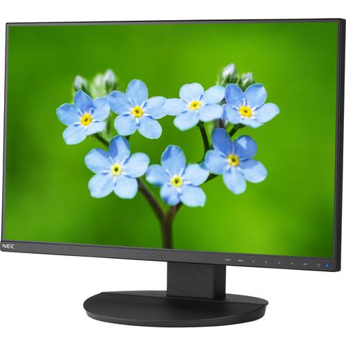"""NEC 24"""" Full HD Business-Class Widescreen Desktop Monitor w/ Ultra-Narrow Bezel, No Stand"""