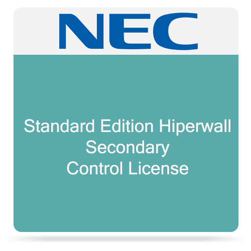 NEC Standard Edition Hiperwall Secondary Control License