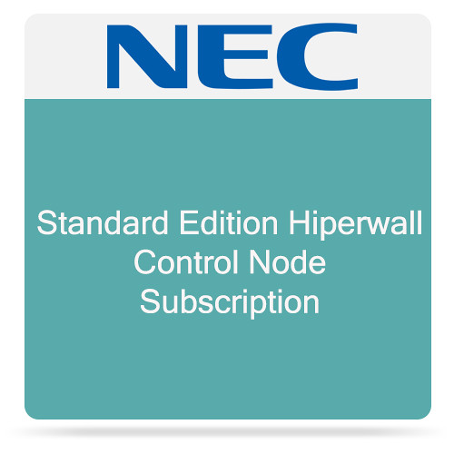 NEC Standard Edition Hiperwall Control Node Subscription