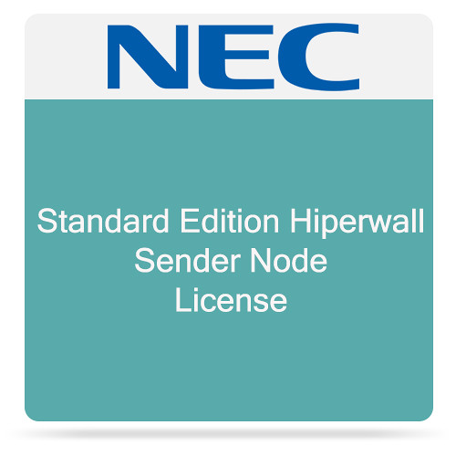 NEC Standard Edition Hiperwall Sender Node License