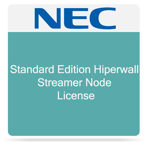 NEC Standard Edition Hiperwall Streamer Node License