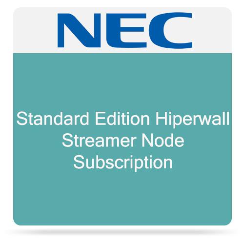 NEC Standard Edition Hiperwall Streamer Node Subscription