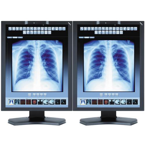 """NEC 21"""" Color Medical Diagnostic Monitors with MDN-K2000 Graphics Card (2)"""