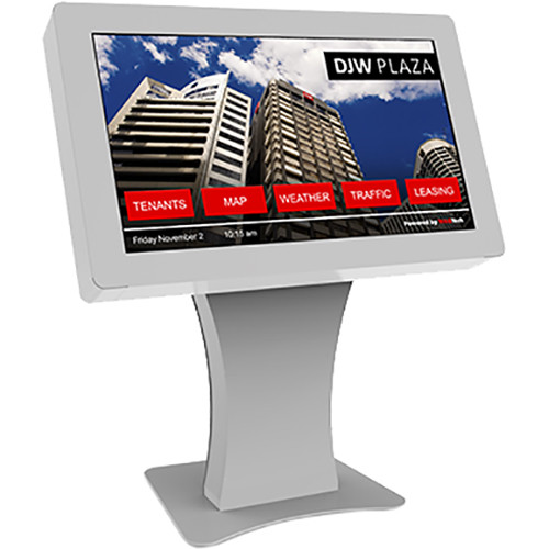 "NEC Landscape Kiosk Solution with 42"" Touchscreen Monitor and OPS PC (Silver)"