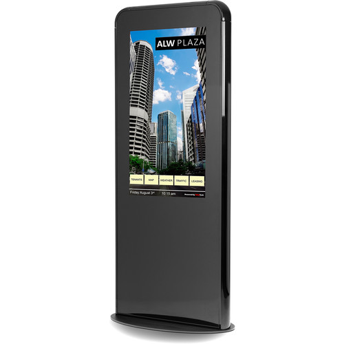 "NEC Portrait Kiosk Solution with 46"" Touchscreen Monitor and OPS PC (Black)"