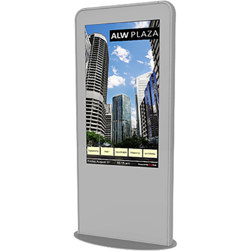 "NEC Portrait Kiosk Solution with 46"" Touchscreen Monitor and OPS PC (Silver)"