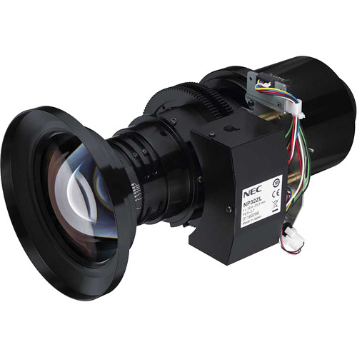 NEC NP32ZL 0.9 to 1.1:1 Zoom Lens with Lens Shift for the NP-PH1000U and NP-PH1400U Projectors