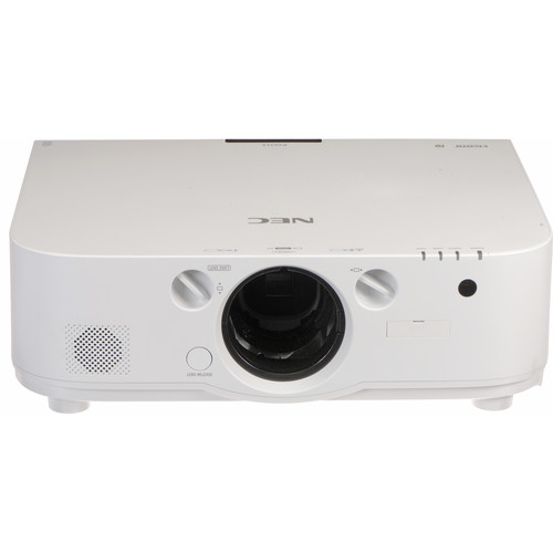 NEC NP-PA621X 6200 Lumen XGA Professional Installation LCD Projector (No Lens Included)