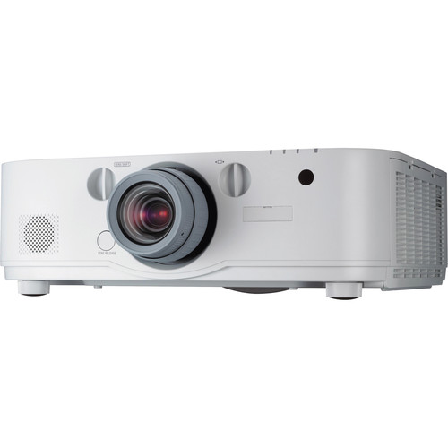NEC NP-PA622U-13ZL 6200 Lumen WUXGA Professional Installation LCD Projector with NP13ZL Lens