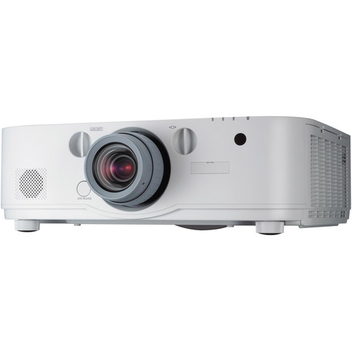 NEC NP-PA672W-13ZL 6700 Lumen WXGA Professional Installation LCD Projector with NP13ZL Lens