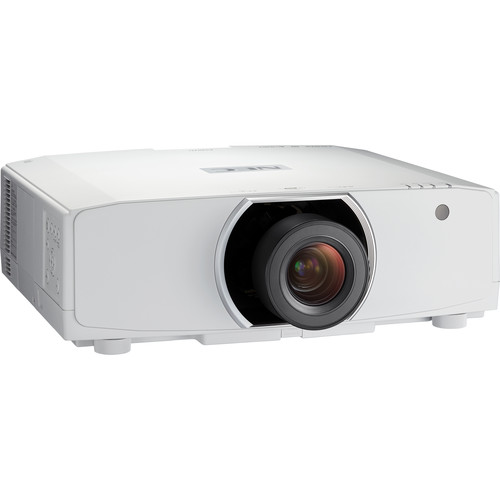 NEC PA Series NP-PA853W 8500-Lumen WXGA LCD Professional Installation Projector (No Lens)