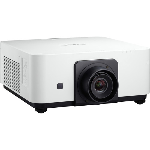 NEC NP-PX602UL-WH 6000 Lumen WUXGA Professional Installation Laser DLP Projector (White, No Lens Included)
