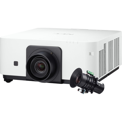 NEC NP-PX602WL-W-36 6000 Lumen WXGA Professional Installation Laser DLP Projector with NP36ZL Lens (White)