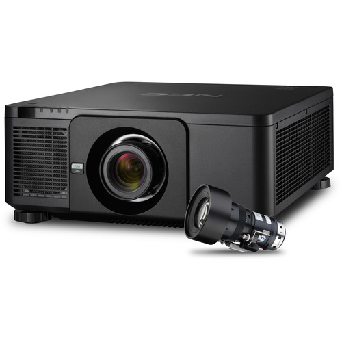 NEC PX803UL Installation Projector with NP18ZL Zoom Lens (Black)
