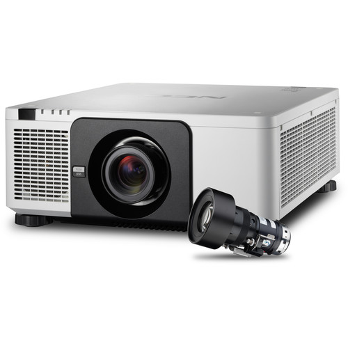 NEC PX803UL Installation Projector with NP18ZL Zoom Lens (White)