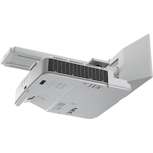 NEC NP-U321H-WK 3200-Lumen 1080p Ultra-Short Throw DLP Projector with Wall Mount