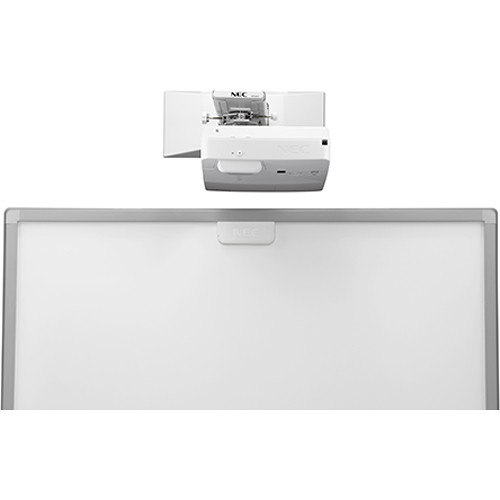 NEC NP-UM352W-TM 3500L Ultra-Short Throw WXGA Interactive Projector with Touch Module and Wall Mount
