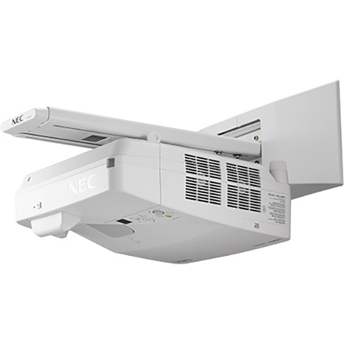 NEC NP-UM352W-WK 3500L Ultra-Short Throw WXGA Interactive Projector with Wall Mount