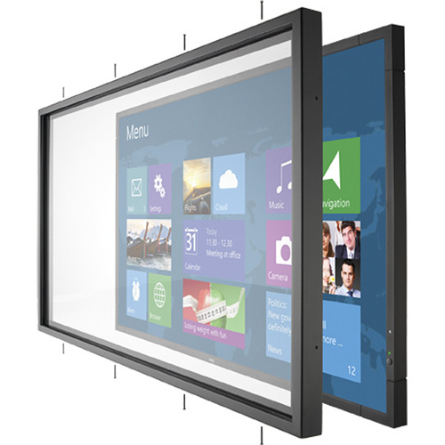 "NEC OL-V652 Protective Infrared Multi-Touch Overlay Accessory for V652 65"" High-Performance LED-Backlit Commercial-Grade Display with Integrated Speakers"