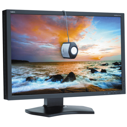 "NEC P242W-BK-SV 24"" LED Backlit IPS Monitor with SpectraView II"