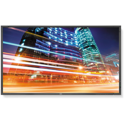 "NEC P553-AVT 55"" LED Backlit Professional-Grade Large Screen Display with Integrated SB-03TM Tuner"