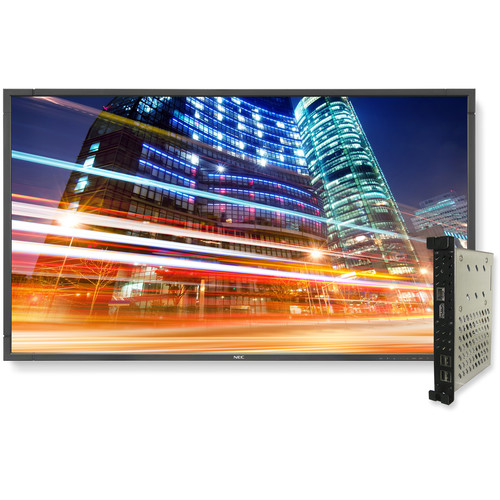 "NEC 55"" Digital Signage Solution with NEP553 Display and OPS-APIC-PS Single-Board Computer"