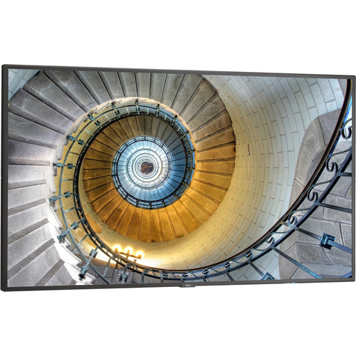 """NEC P554-AVT2 55""""-Class Full HD Commercial IPS LED Display with Integrated ATSC Tuner Bundle"""