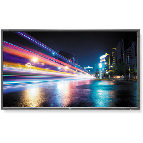 "NEC P Series 70"" LED Backlit Professional-Grade Large Screen Display with Integrated Tuner"