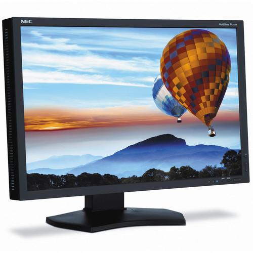 "NEC PA242W-BK 24"" Professional Wide Gamut LED Desktop Monitor"