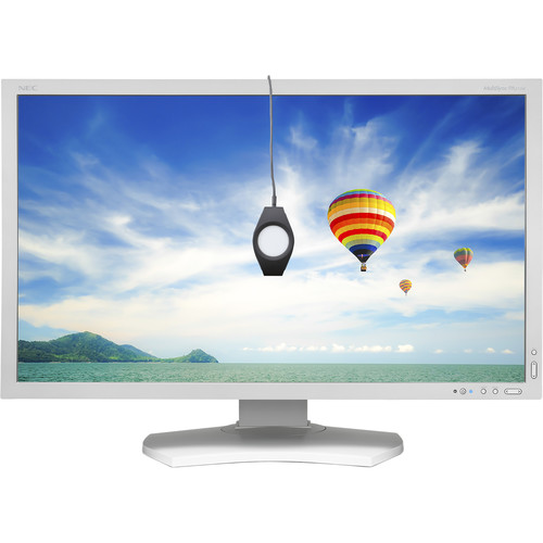 """NEC PA272W-SV LED 27"""" 16:9 IPS Monitor with SpectraViewII (White)"""