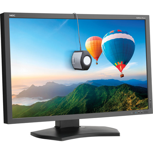 """NEC PA302W-BK-SV 30"""" 16:10 IPS Monitor with SpectraView II (Black)"""