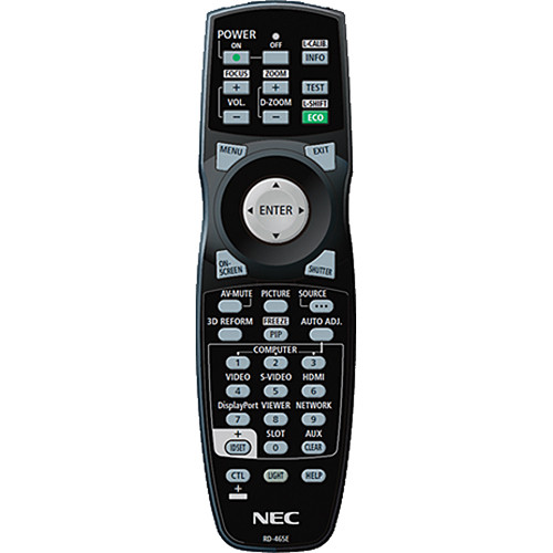 NEC NEC RMT-PJ35 Replacement Remote Control