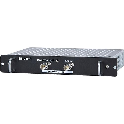 NEC Internal 3G/HD/SD-SDI Input Card