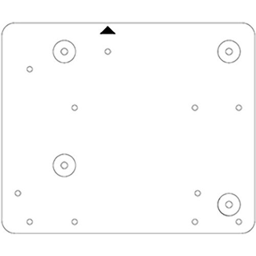 NEC Adapter Plate for Select Smart Boards and NP-UM361X / NP-UM351W Projectors