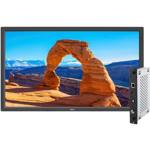 """NEC V323-2  32"""" High-Performance FHD LED Backlit Commercial-Grade Display (Black)"""
