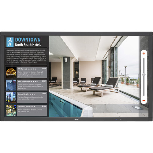 """NEC 40"""" Touch Integrated Large-Screen Display"""