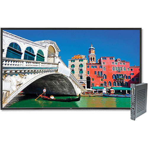 "NEC V423-DRD 42"" Full HD Widescreen Edge-Lit LED S-IPS LCD Display and Digital Media Player Bundle"