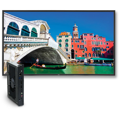 "NEC 42"" Digital Signage Solution with V423 Display and OPS-APIC-PS Single-Board Computer"