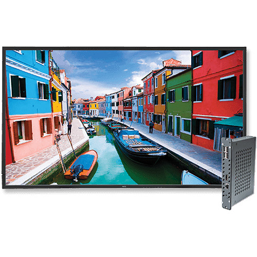 "NEC V463-DRD 46"" Full HD Widescreen Edge-Lit LED A-MVA LCD Display and Digital Media Player Bundle"